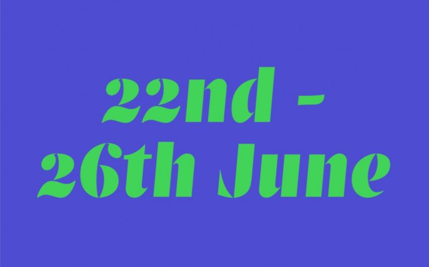 22nd - 26th June 2020